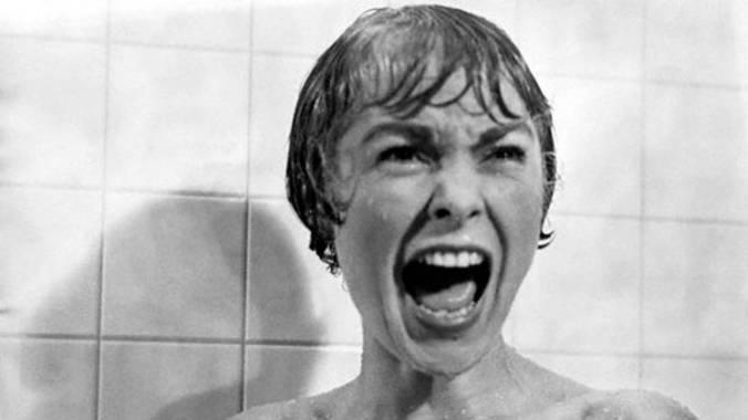 Escena de 'Psicosis', de Alfred Hitchcock.
